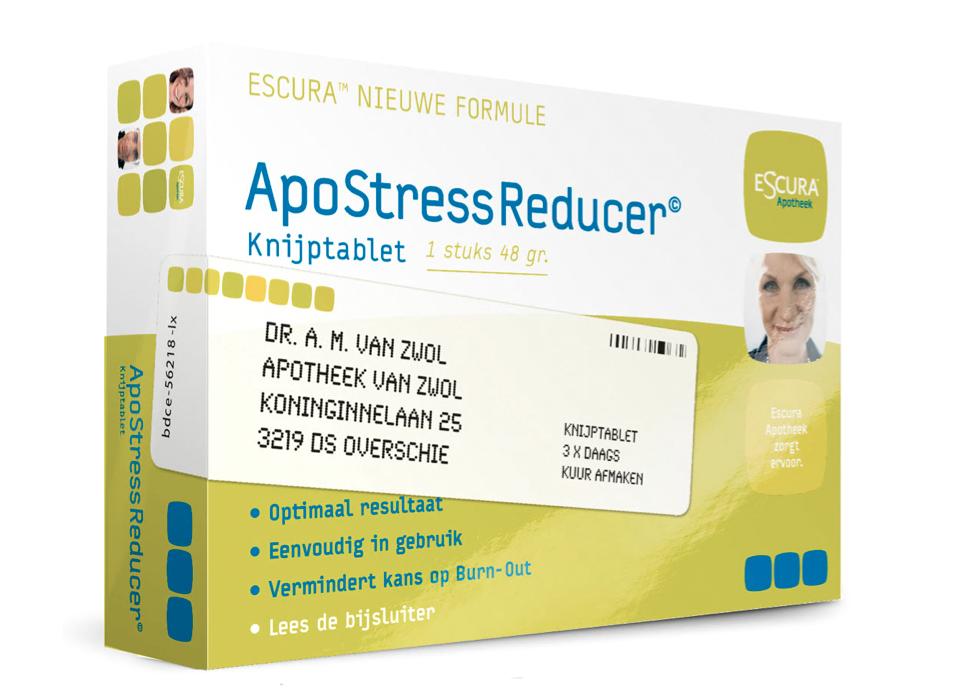 Escura ApoStressReducer© Design: Bas van der Paardt